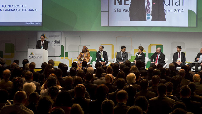 NETmundial: Internet must remain free of government meddling and should be run 'by all'