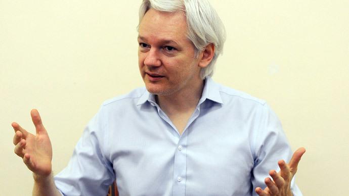 Julian Assange.(AFP Photo / Anthony Devlin)