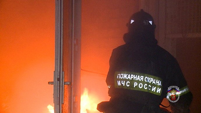 At least 8 die in drug addict rehab center fire in Russia