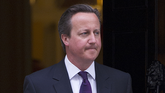 British Prime Minister David Cameron (AFP Photo / Carl Court)
