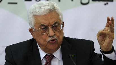 Palestinian Authority President Mahmoud Abbas. (AFP Photo / Abbas Momani)