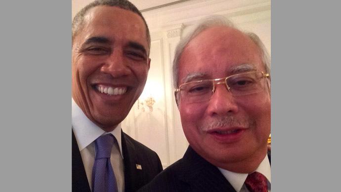 Photo from Twitter/@NajibRazak