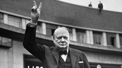 Sir Winston Churchill (AFP Photo)
