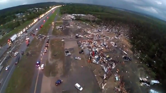 FAA 'looking into' $10K fine for drone recording of tornado disaster area