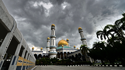 The Jame' Asr Hassanil Bolkiah Mosque in Bandar Seri Begawan (AFP Photo / Roslan Rahman)