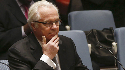 Russian Ambassador to the U.N. Vitaly Churkin (Reuters / Shannon Stapleton)