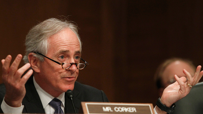 Senator Bob Corker (Reuters / Gary Cameron)
