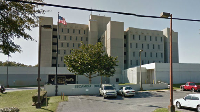 Escambia County Jail facility (Image from google.maps.com)