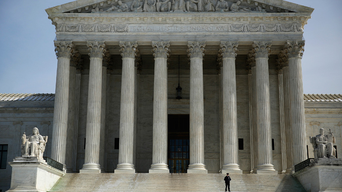 The exterior of the U.S. Supreme Court is seen in Washington (Reuters / Gary Cameron)