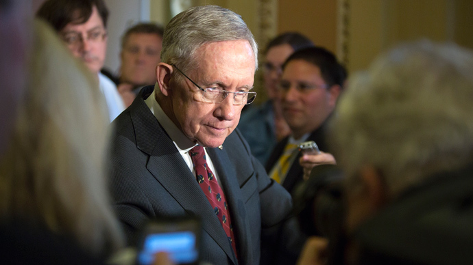U.S. Senate Majority Leader Harry Reid (Reuters / Jonathan Ernst)