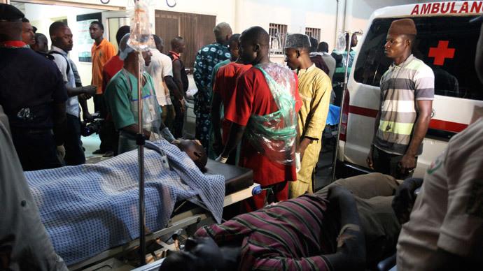 Explosion hits Nigeria's capital near spot of April bombing