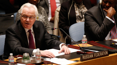 Russian Ambassador to the United Nations Vitaly Churkin (Reuters / Mike Segar)
