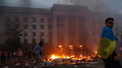 'They beat us with bats and chains' - anti-Maidan activist in Odessa