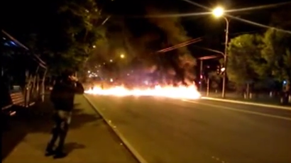 ​Radicals shooting at people in Odessa's burning building caught on tape
