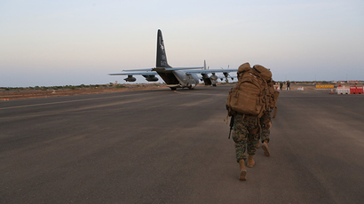 Camp Lemonnier, Djibouti (AFP Photo / US Marine Corps Staff Sgt. Robert L. Fisher III)