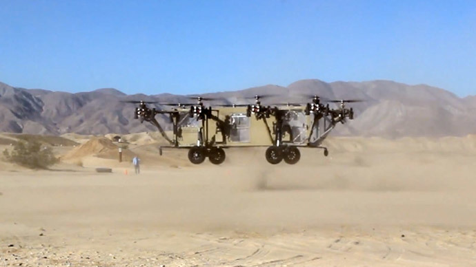 DARPA's flying Humvee project takes flight (VIDEO)