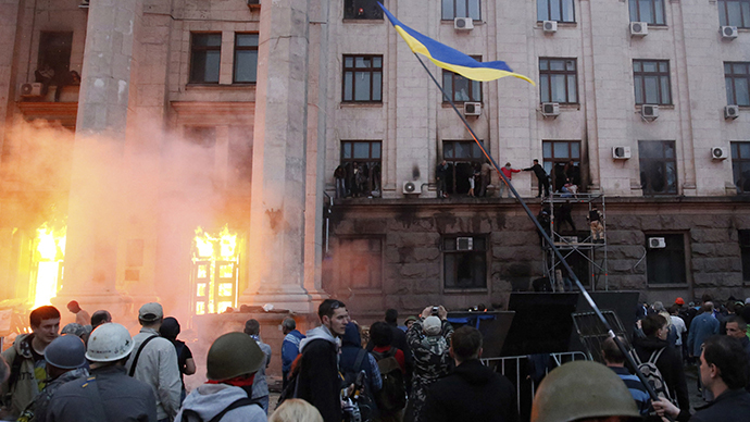 Odessa tragedy 'fascism in action' - Lavrov