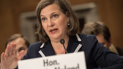 US Assistant Secretary of State for European and Eurasian Affairs Victoria Nuland.(AFP Photo / Nicholas Kamm)