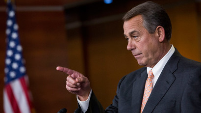 John Boehner.(AFP Photo / Drew Angerer)