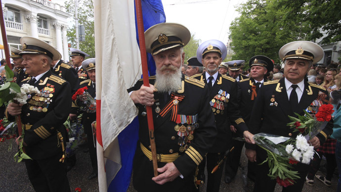 Navy, jets, air show: Sevastopol marks V-Day, 70 years of liberation from Nazis (VIDEO)