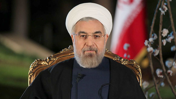 A handout picture released by the Iranian Presidency shows the Islamic Republic's President Hassan Rouhani (AFP Photo)