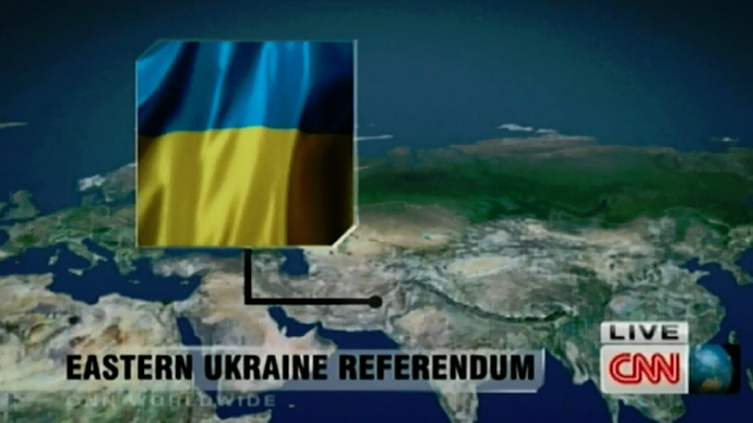 Whither Ukraine? CNN map says in… Pakistan