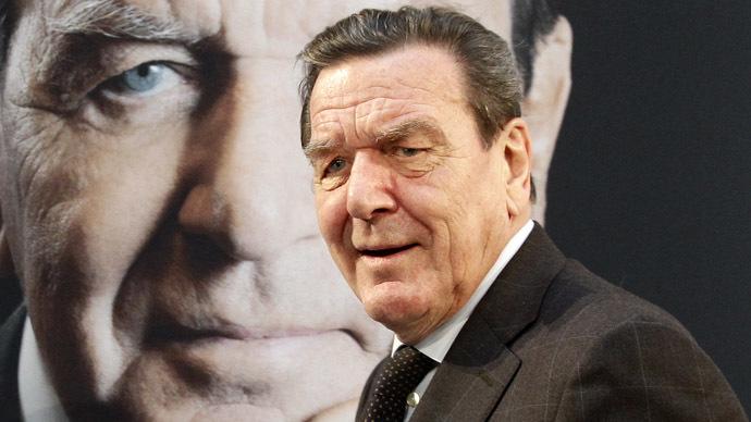 Former German Chancellor Gerhard Schroeder (Reuters/Tobias Schwarz)