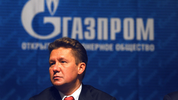 CEO of Russian gas giant Gazprom Alexei Miller (AFP Photo)