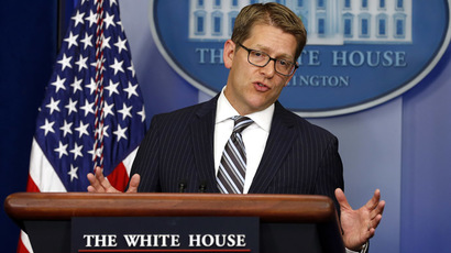 White House Press Secretary Jay Carney (Reuters/Kevin Lamarque)