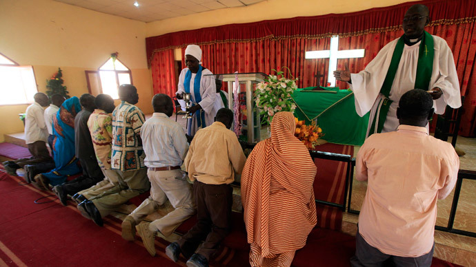 FILE PHOTO: Christian church in Sudan.(Reuters / Mohamed Nureldin Abdallah)