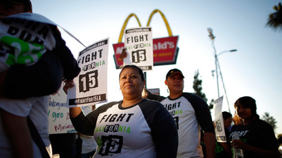 #FightFor15: Fast food workers to strike for higher wages across US