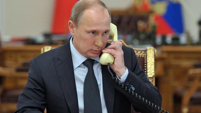 Vladimir Putin's declaration to foreign leaders on Ukrainian gas crisis