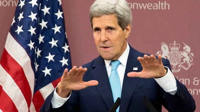 US Secretary of State John Kerry.(AFP Photo / Jacquelyn Martin)