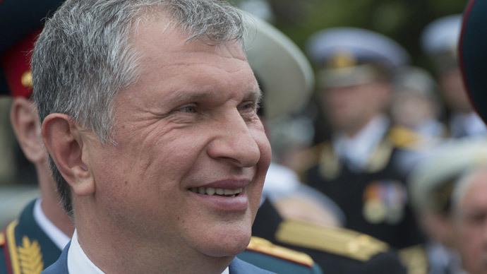 Rosneft president Igor Sechin.(RIA Novosti / Sergey Guneev)