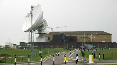 RAF Croughton dish (Photo from Wikipedia.org)