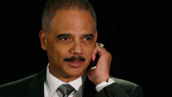 United States Attorney General Eric Holder.(Reuters / Gary Cameron )