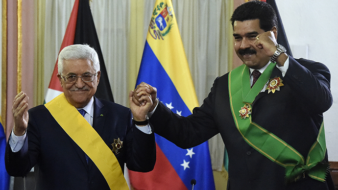 Venezuela signs deal to provide Palestinian Authority with oil