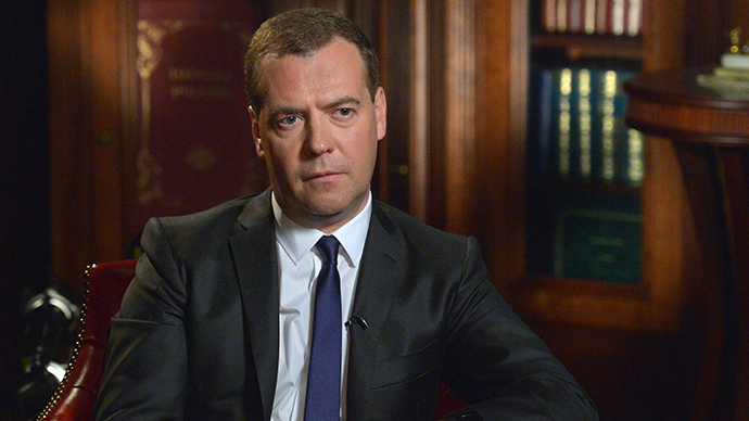 'Double-headed eagle looks in both directions': Russia has enough gas for both East and West - PM Medvedev