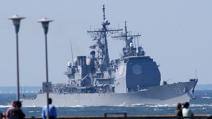 Pentagon deploys another warship to Black Sea