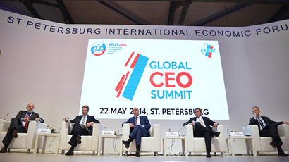 St. Petersburg hosts Global CEO Summit (RIA Novosti / Vladimir Astapkovich)