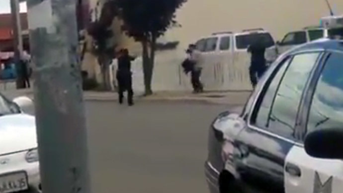 California police caught on camera fatally shooting man (VIDEO)