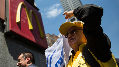 Fast food worker strike begins with arrests nationwide (PHOTOS)