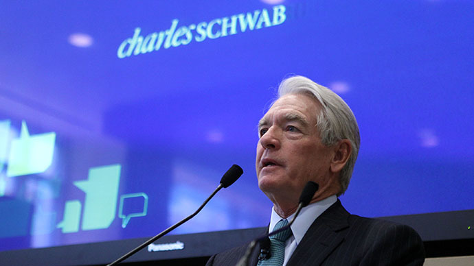 Charles Schwab Corp. founder and chairman Chuck Schwab (AFP Photo / Getty Images / Justin Sullivan)