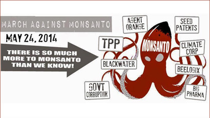 Global anti-GMO action: People unite against Monsanto dominance