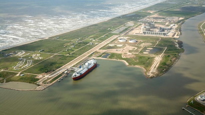 Freeport LNG terminal on Quintana Island, about 70 miles south of Houston, Texas. Photo: Freeport LNG