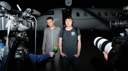 'Blindfolded, brought to knees': Russian Zvezda TV crew abducted near Slavyansk