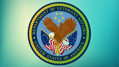 Veterans Affairs police logo