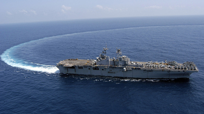 USS Bataan (AFP Photo /  Justin Webster)