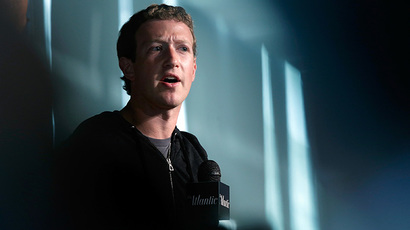 Facebook CEO Mark Zuckerberg (AFP Photo / Getty Images / Win McNamee)