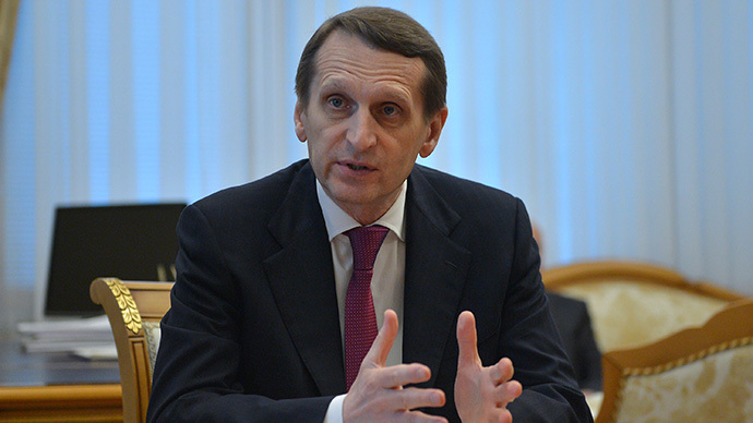 Russian State Duma Speaker Sergei Naryshkin (RIA Novosti / Ramil Sitdikov)